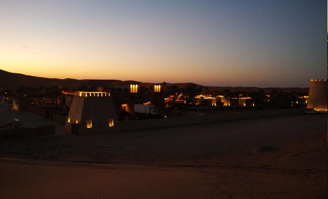 砂漠のホテル アラビアンナイトビレッジ