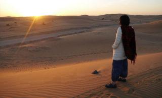 アラブ首長国連邦 砂漠