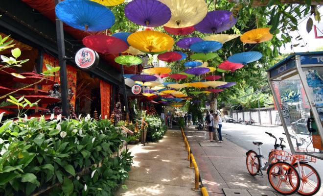 チェンマイ旧市街