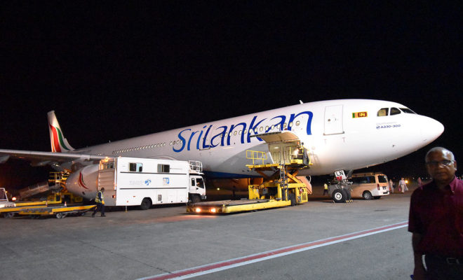 マレ空港スリランカ航空